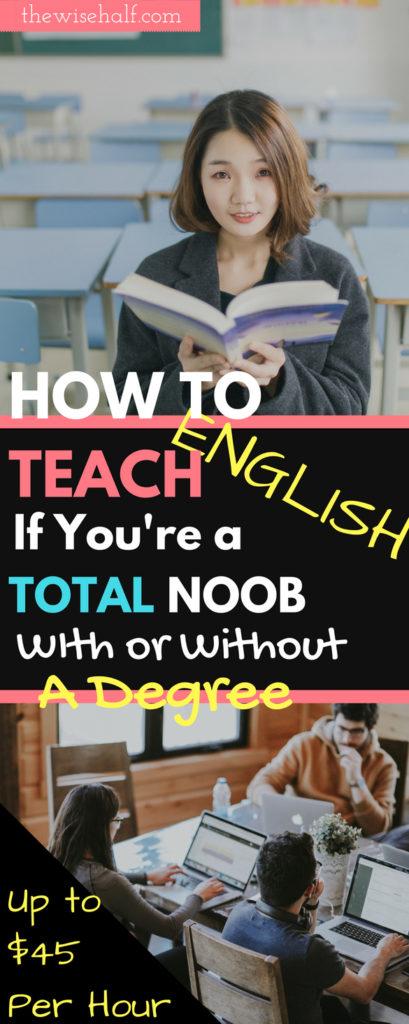 enseñar inglés en casa