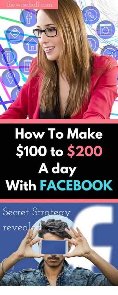 como ganar dinero en facebook