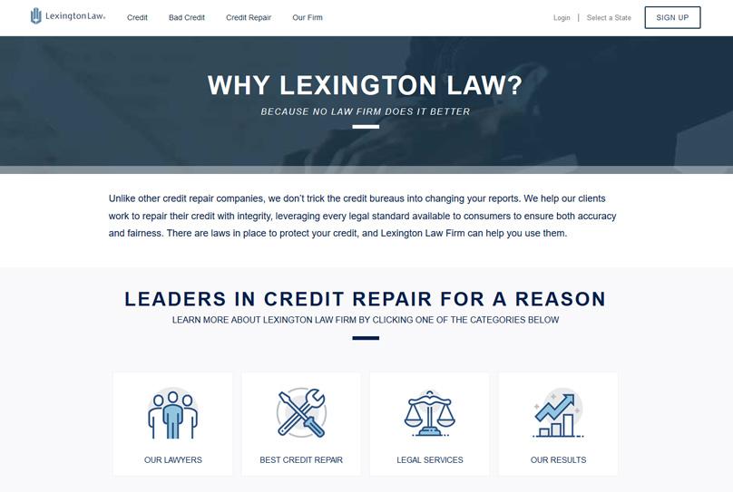 Sobre la ley de Lexington