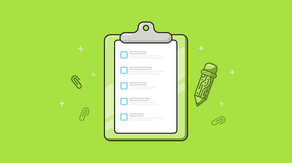 Psicografía en marketing concepto de encuesta de cliente ilustración