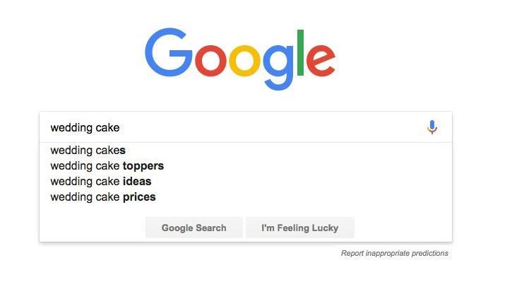 investigación de palabras clave de google