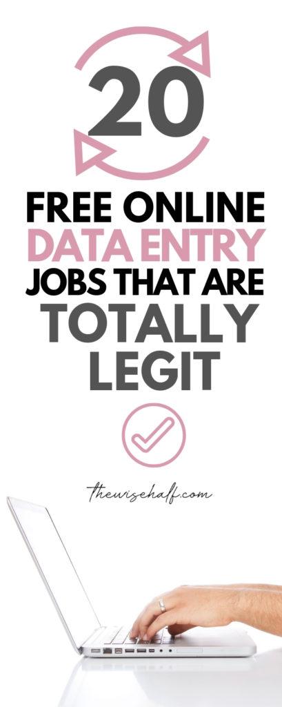 trabajos de entrada de datos desde casa sin inversión