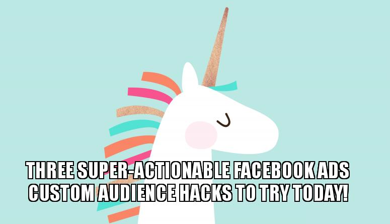 estrategia para audiencias personalizadas de facebook