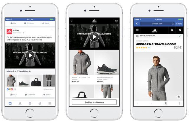 Actualizaciones de Facebook Ads 2017 colecciones de Facebook