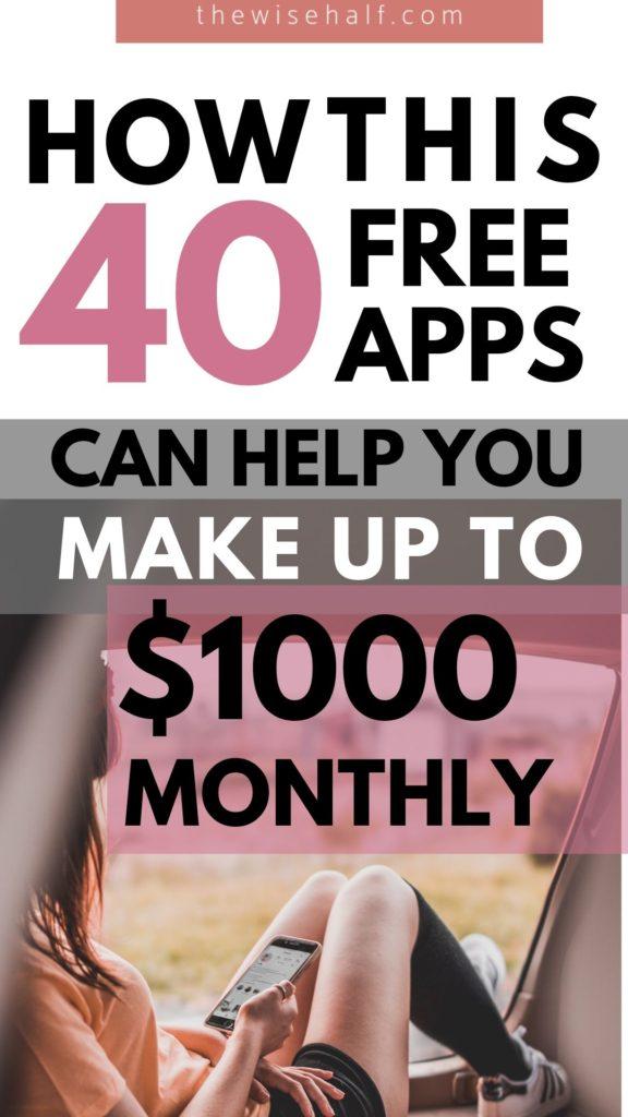 aplicaciones que hacen dinero, aplicaciones que hacen dinero