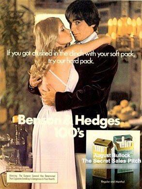 Publicidad subliminal Anuncio de cigarrillos Benson & Hedges