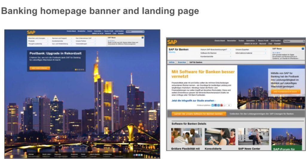 pruebas de página de aterrizaje personalizadas por vertical