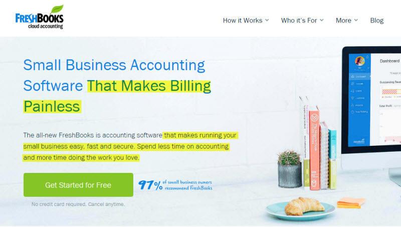Copia del sitio web Ejemplo de voz de FreshBooks del cliente