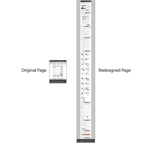 Diseños de página de aterrizaje Ejemplo de página de aterrizaje de larga duración de Moz