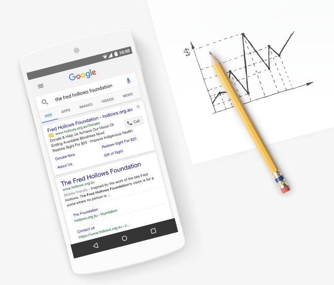 el anuncio de Google otorga cambios importantes para organizaciones sin fines de lucro
