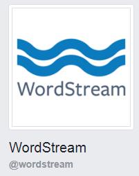 imagen de perfil de facebook de wordstream