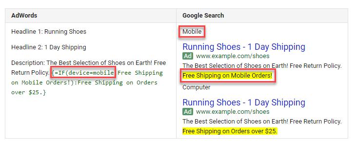 AdWords si funciona para anuncios móviles