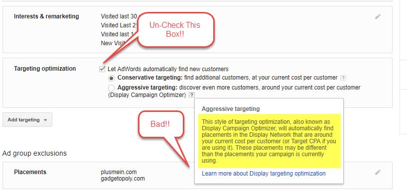 Lucha contra el fraude de clics Red de Display de Google