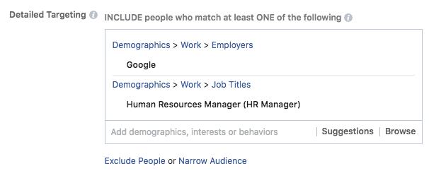 marketing basado en cuentas en facebook