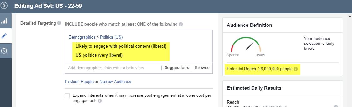 Cómo apuntar a la audiencia correcta de Facebook