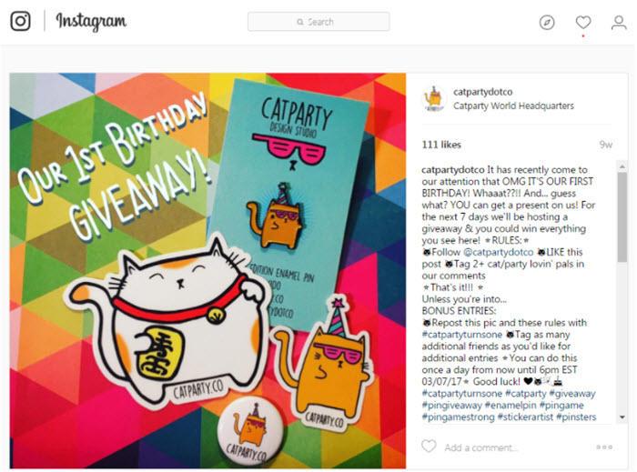 cómo hacer un concurso de sorteo de instagram