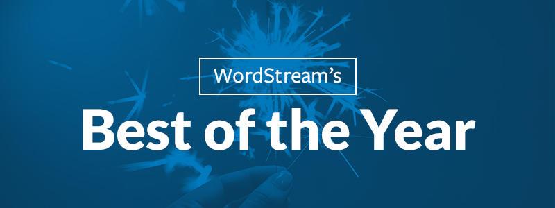 Lo mejor de la edición 2017 del blog WordStream