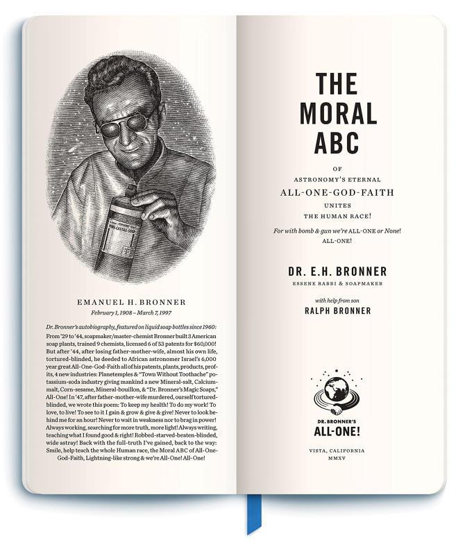 Marketing ético ABC moral del Dr. Bronner