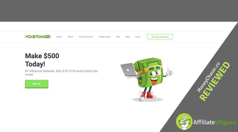 Revisión del sitio web moneychaser.co