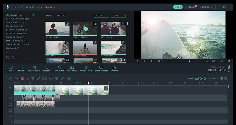 El mejor software de edición de video para principiantes Filmora