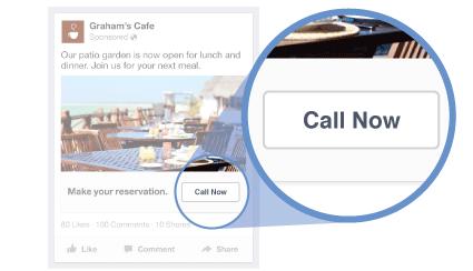 Consejos de marketing local Anuncios de solo llamadas de Facebook
