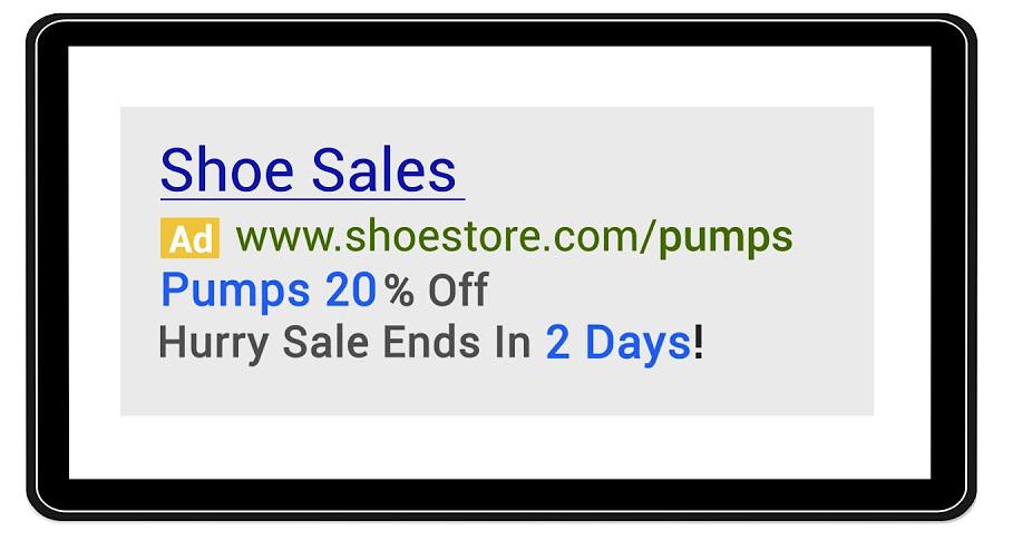 Consejos de marketing local copia de anuncio única