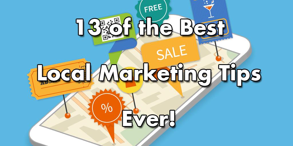 13 de los mejores consejos de marketing local