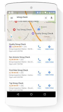 Consejos de marketing local Anuncios de búsqueda local