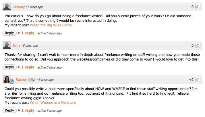 ¿Entonces quieres ser un escritor independiente?