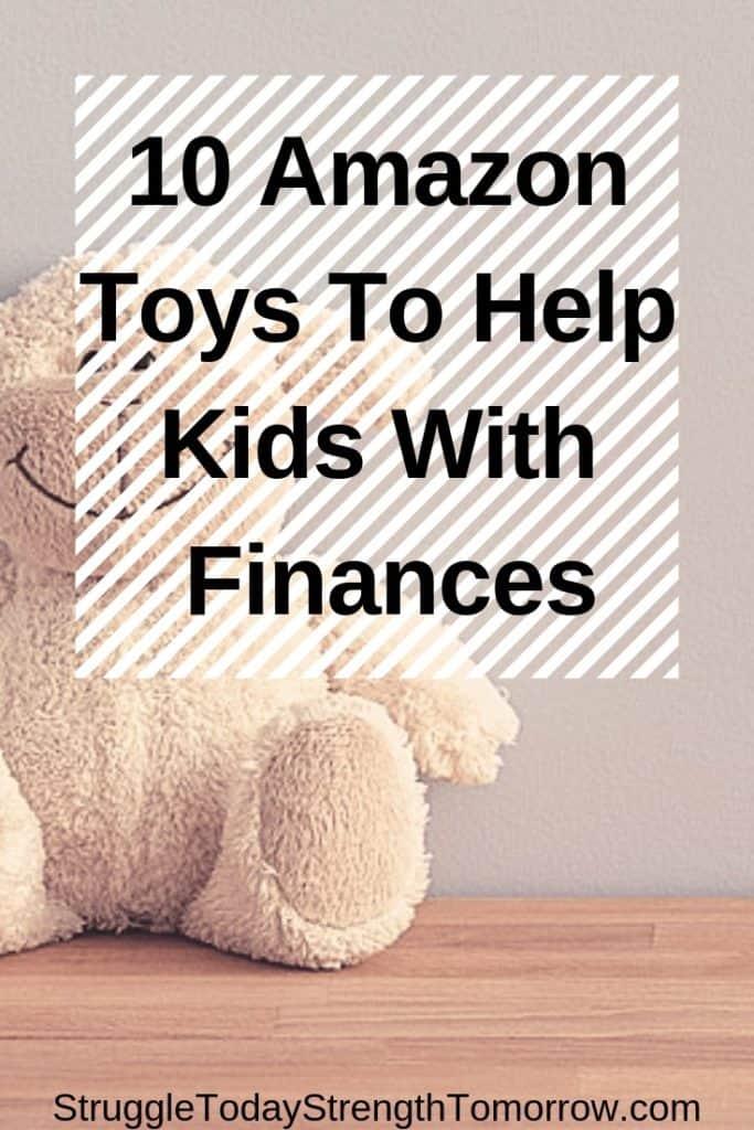 """enseñar a los niños sobre el dinero y ayudarlos a comprenderlo es importante para criar adultos financieramente responsables. Vea estos 10 juguetes de Amazon que son el regalo educativo perfecto. ¡haga que el aprendizaje sea divertido! """"ancho ="""" 170 """"altura ="""" 420"""