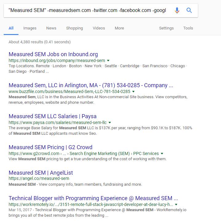 monitoreo de mención de marca para la construcción de enlaces