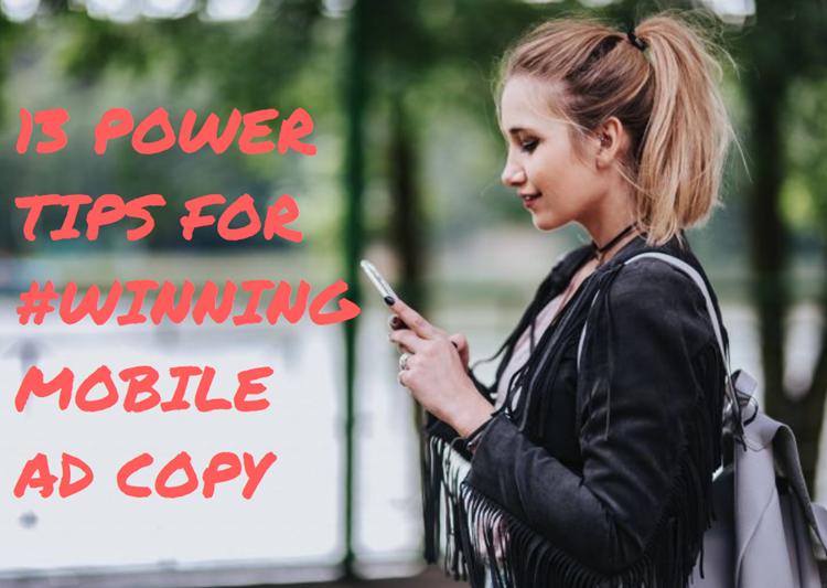 consejos para copiar anuncios para dispositivos móviles