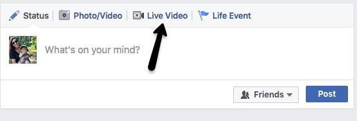facebook live como
