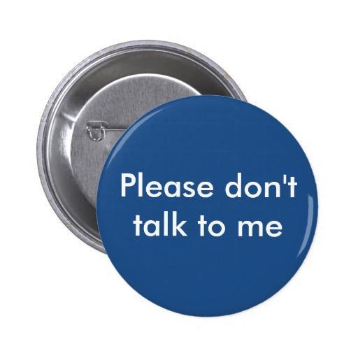 no me hables