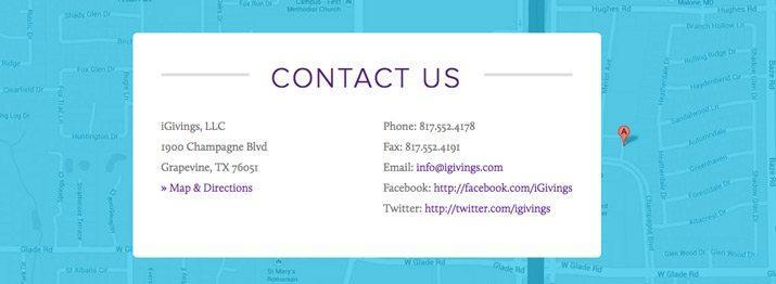 Consejos de marketing local dirección direcciones página web contáctenos página