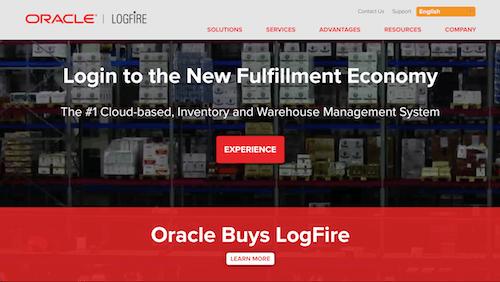 LogFire Cloud Warehouse Management