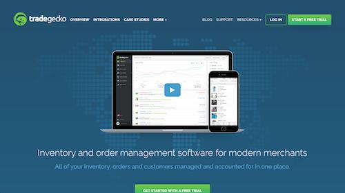 Software de gestión de almacenes TradeGecko