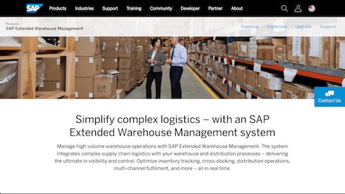 SAP Extended Warehouse Management