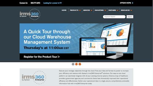 IRMS 360 Enterprise Cloud Warehouse Management System