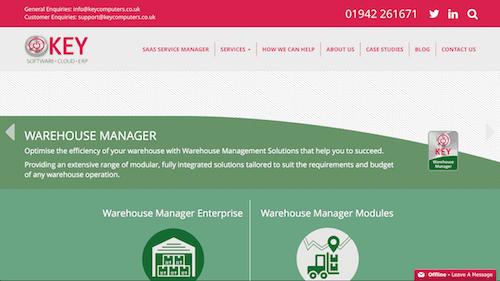 Key Warehouse Manager Enterprise