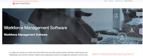 ServiceMax Workforce Management Software