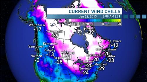 tendencias del clima canadiense