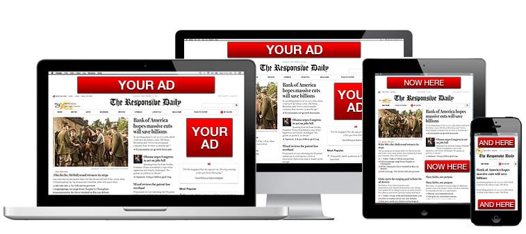 Los costos de publicidad en línea muestran el inventario de anuncios