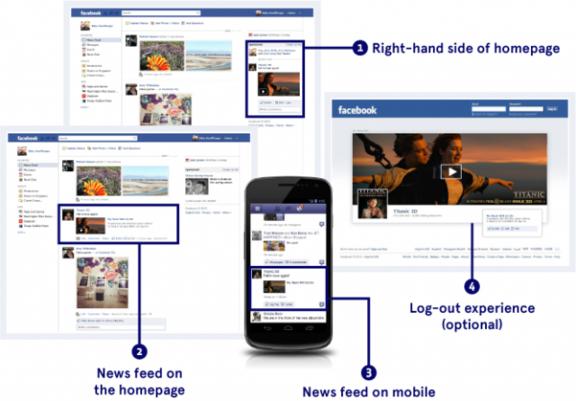 La publicidad en línea cuesta ilustración de concepto de anuncios de Facebook
