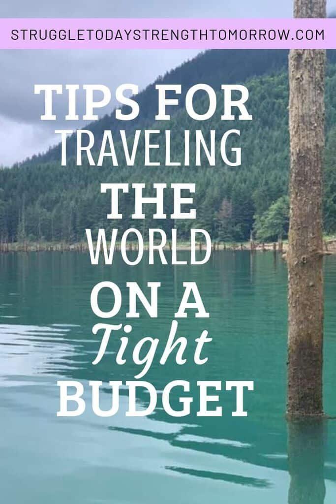 Consejos para viajar por el mundo con un presupuesto ajustado. ¡Sus vacaciones de ensueño no tienen que estar tan lejos! Vea estos increíbles consejos sobre cómo puede ahorrar dinero para viajar. #Travel #SavingMoney #BudgetTravel #savemoneyfortravel #budgettraveltips #savemoney #wander