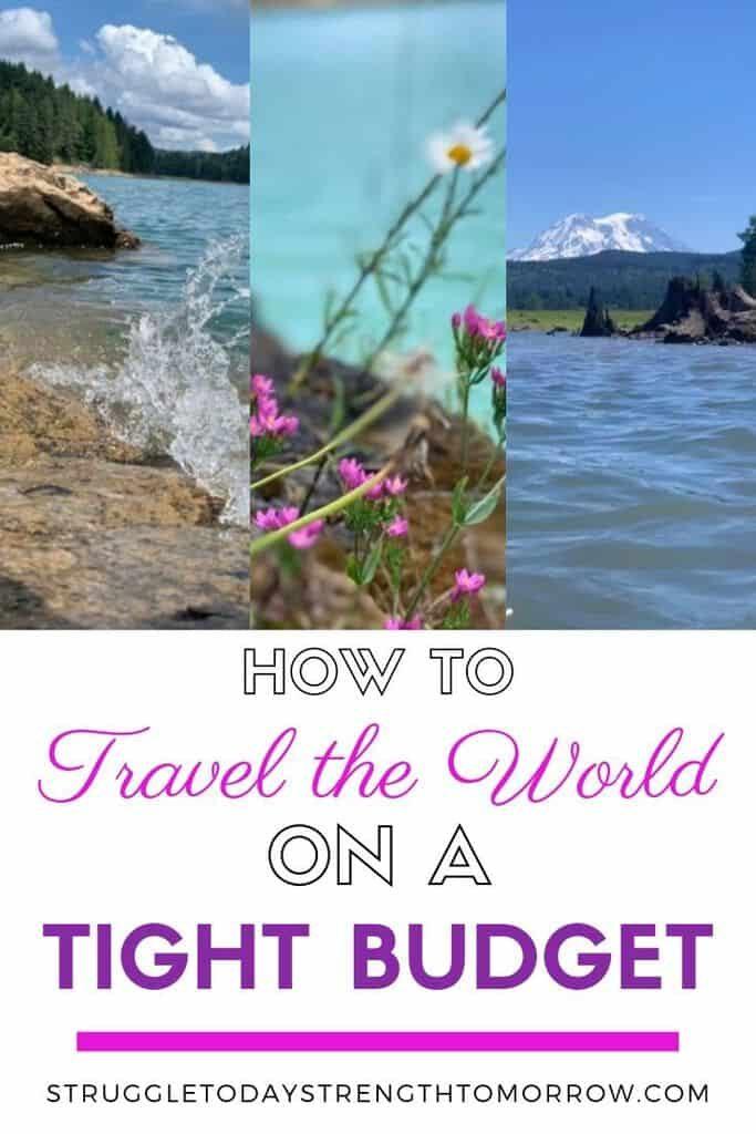 Cómo viajar por el mundo con un presupuesto ajustado. ¡Sus vacaciones de ensueño no tienen que estar tan lejos! Vea estos increíbles consejos sobre cómo puede ahorrar dinero para viajar. #Travel #SavingMoney #BudgetTravel #savemoneyfortravel #budgettraveltips #savemoney #wander