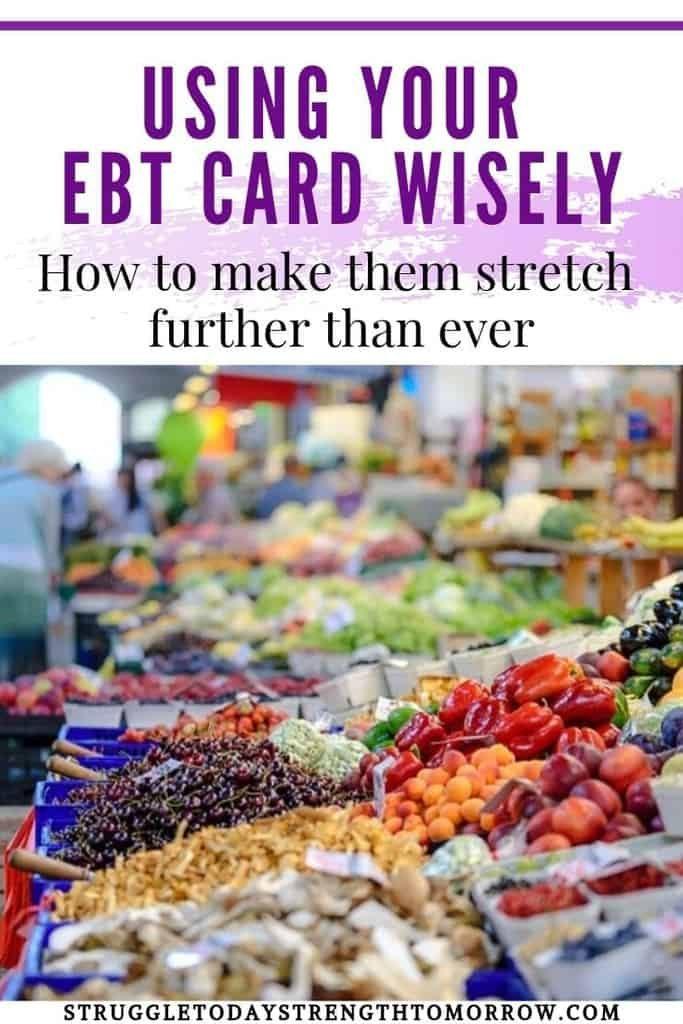 Usando su tarjeta EBT sabiamente. Cómo hacer que sus beneficios de cupones de alimentos (SNAP) se extiendan más que nunca. Sobrevivir con cupones de alimentos es una cosa, pero siempre existe el riesgo de que se lo puedan quitar con poca o ninguna advertencia. Vea cuáles son esas razones y qué puede hacer para prepararse para ello. Además, obtenga algunos consejos increíblemente geniales para ayudarlo a planificar su comida y consejos para su lista de compras para que pueda hacer un presupuesto de comestibles con un presupuesto de cupones de alimentos sin problemas. #plan de comidas #ebt # sellos de comida #snap #pobreza # bajos ingresos #frugaliiving #presupuesto