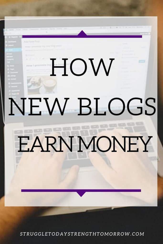¿Cómo ganan dinero los nuevos blogs? Sabemos que bloguear puede ser muy exitoso gracias a la gran cantidad de grandes blogueros que publican sus informes de ingresos, pero no mucha gente habla sobre cómo los blogs más pequeños (10k y con vistas mensuales) pueden ganar dinero mientras esperan su día para llegar aquí. #blogging #makemoneyonline #workfromhome #blogger #bloggingtips