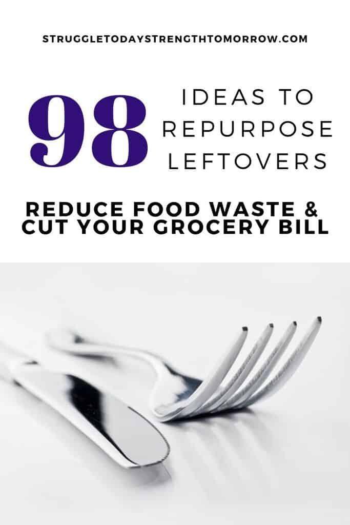 98 ideas para reutilizar las sobras. Reduzca el desperdicio de alimentos y reduzca la factura del supermercado convirtiendo algo viejo en algo nuevo. ¡Haga clic para ver todas las increíbles ideas de planificación de comidas! # sobras #meftovermeat #simple #recipes #mealplan #foodwaste #waste #groceries #savingmoney