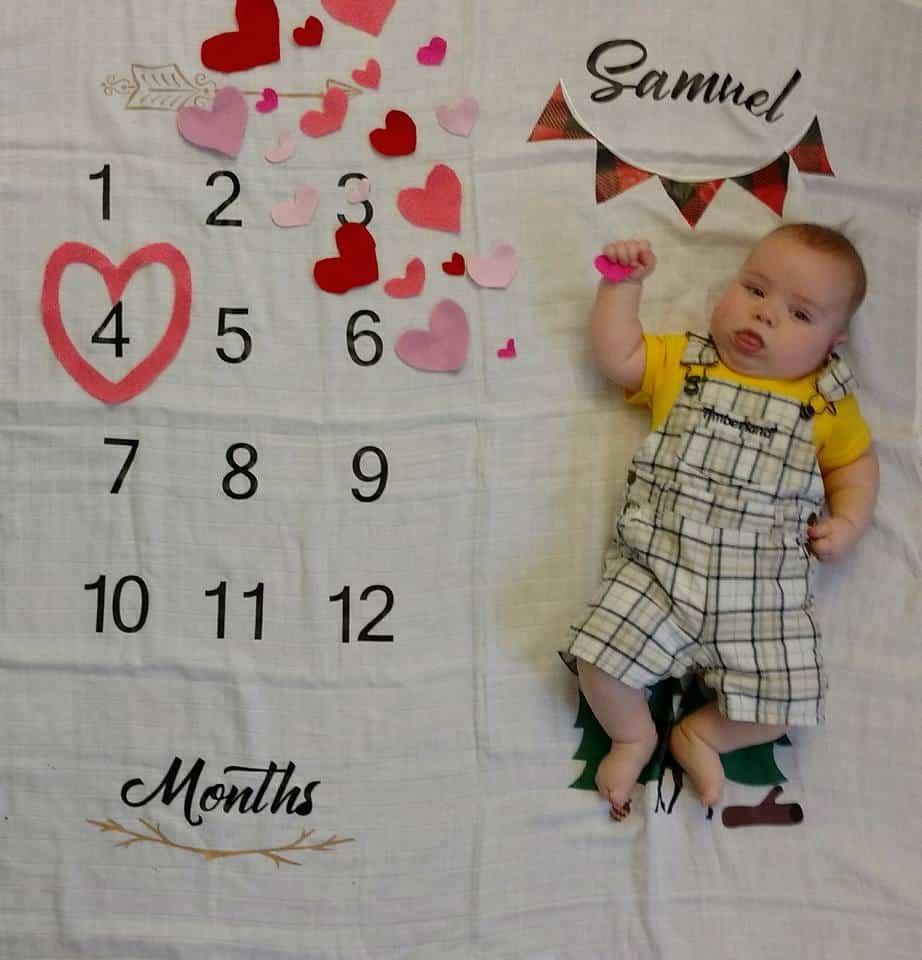 2 meses hijo samuel